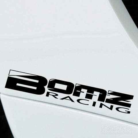 2x Bomz Racing Performance Tuning Vinyl Decal
