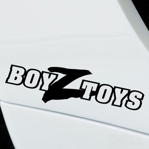 2x BoyzToys Performance Tuning Vinyl Decal