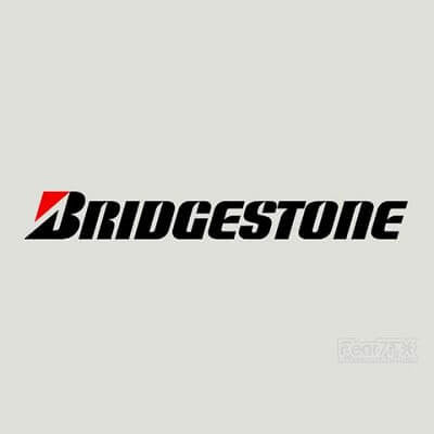 2x Bridgestone Performance Vinyl Transfer Decal