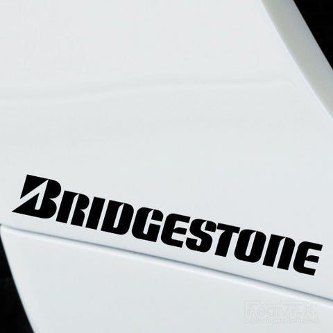 2x Bridgestone Performance Tuning Vinyl Decal