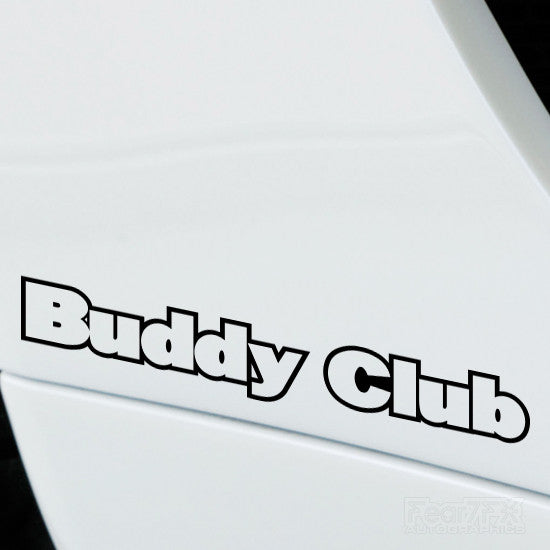 2x Buddy Club Performance Tuning Vinyl Decal