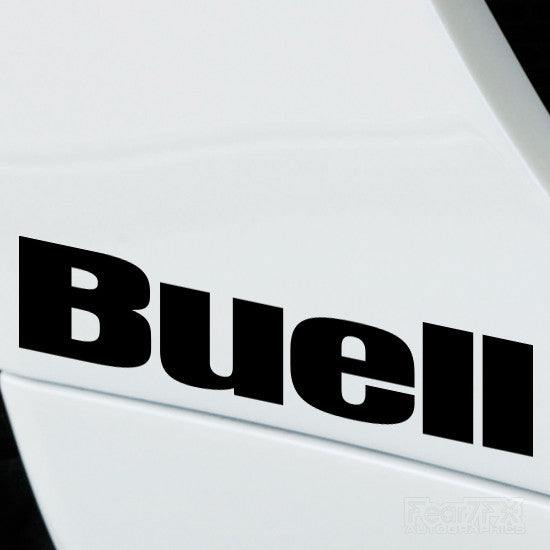 2x Buell Performance Tuning Vinyl Decal