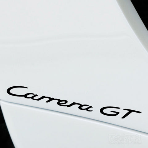 2x Carrera GT Performance Tuning Vinyl Decal