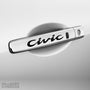 4x Civic V3 Door Handle Vinyl Transfer Decals