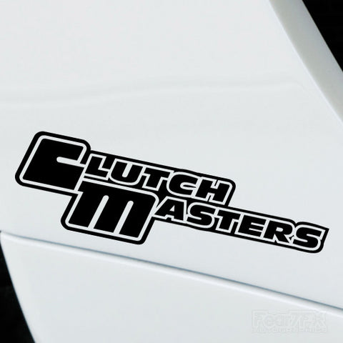 2x Clutch Masters Performance Tuning Vinyl Decal