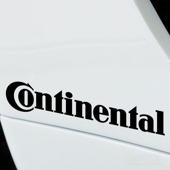 2x Continental Performance Tuning Vinyl Decal