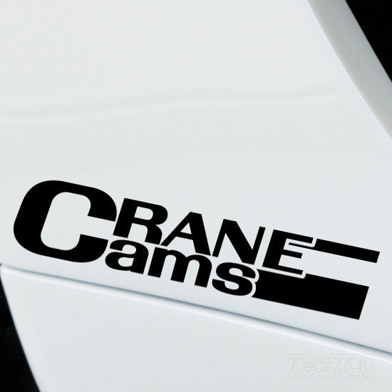 2x Crane Cams Performance Tuning Vinyl Decal