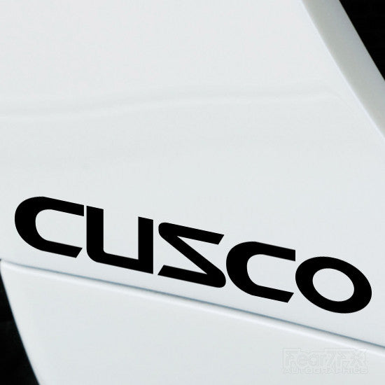 2x Cusco Performance Tuning Vinyl Decal