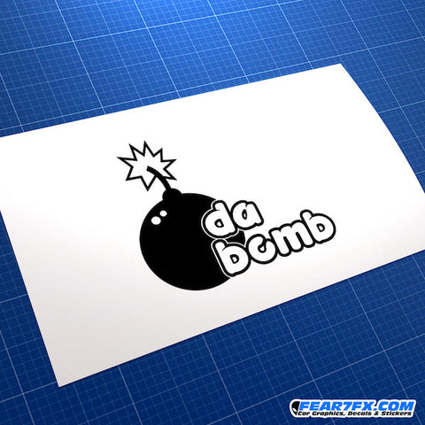 Da Bomb JDM Car Vinyl Decal Sticker