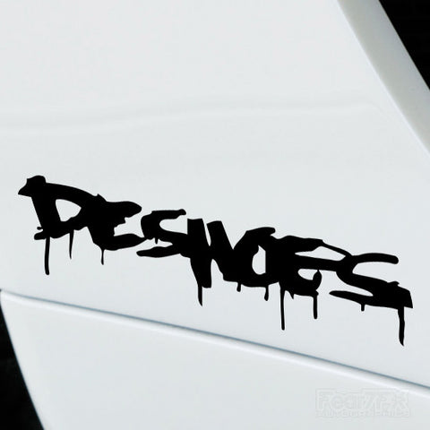 2x DC Shoes Performance Tuning Vinyl Decal