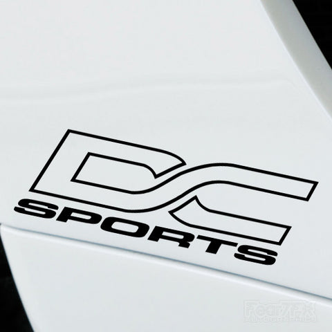 2x DC Sports Performance Tuning Vinyl Decal