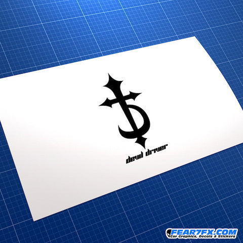 Devil Driver JDM Car Vinyl Decal Sticker