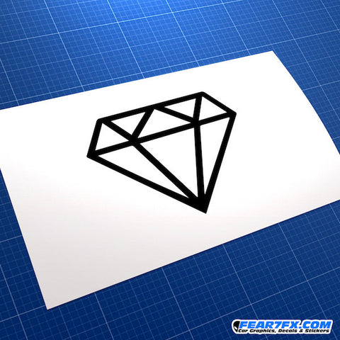 Diamond JDM Car Vinyl Decal Sticker