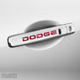 4x Dodge Door Handle Vinyl Transfer Decals