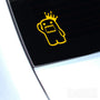 Domo Kun King JDM Euro Decal Sticker V5