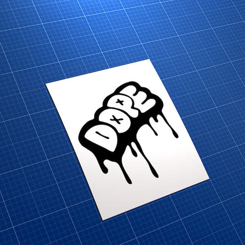 Dope Graffiti JDM Car Vinyl Decal Sticker