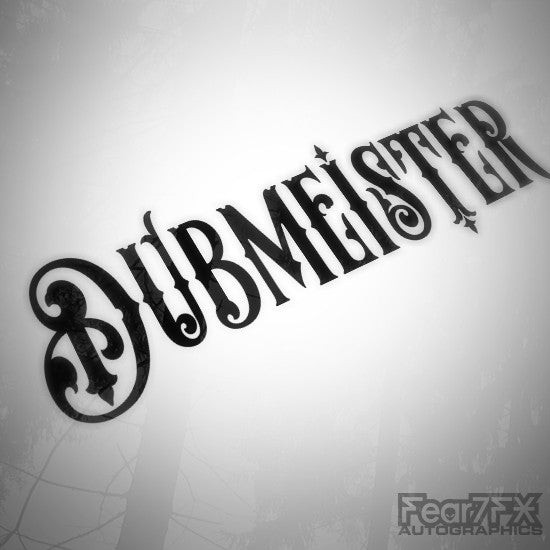 Dubmeister JDM DUB Euro Decal Sticker