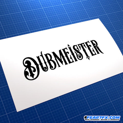 Dubmeister Dub JDM Car Vinyl Decal Sticker
