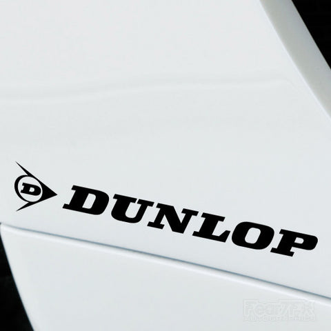 2x Dunlop Performance Tuning Vinyl Decal