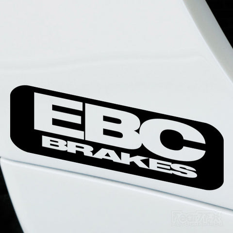 2x EBC Brakes Performance Tuning Vinyl Decal