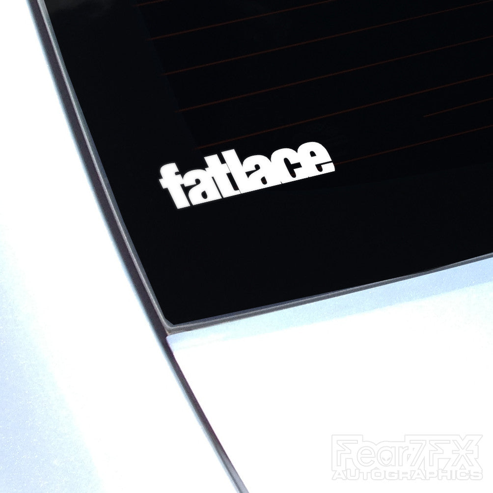 Fatlace JDM Car Vinyl Decal Sticker
