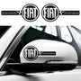 2x Fiat Panda Custom Wing Mirror Vinyl Decals