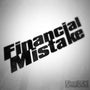 Financial Mistake Funny Euro Decal Sticker