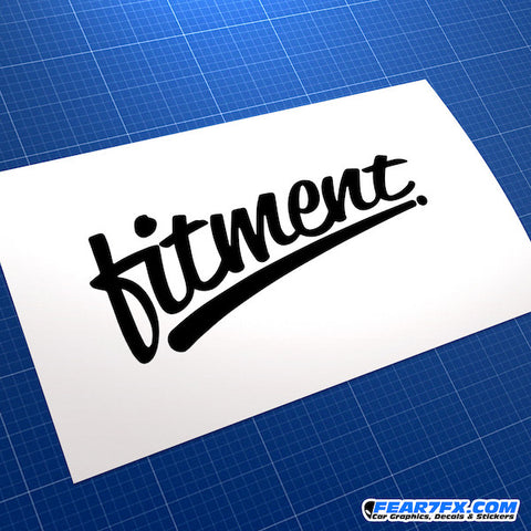Fitment JDM Car Vinyl Decal Sticker