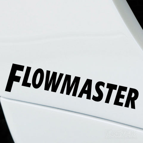 2x Flowmaster Performance Tuning Vinyl Decal