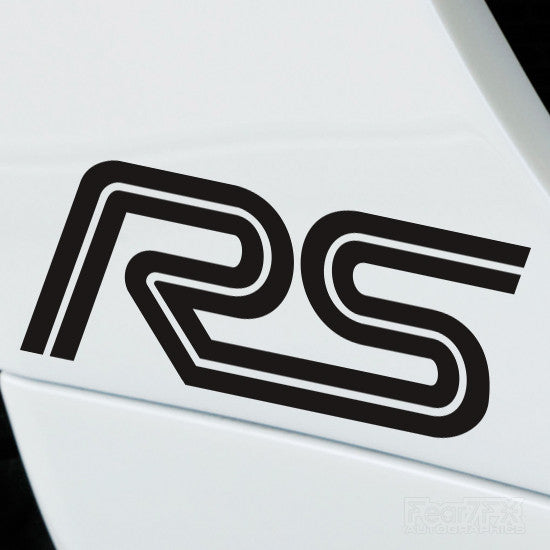 2x Ford RS Performance Tuning Vinyl Decal