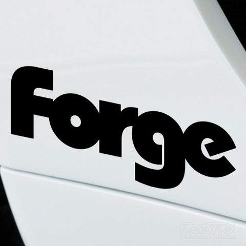 2x Forge Motorsport Performance Tuning Vinyl Decal