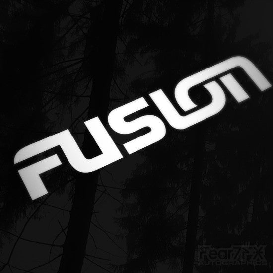 1x Fusion Audio Vinyl Transfer Decal