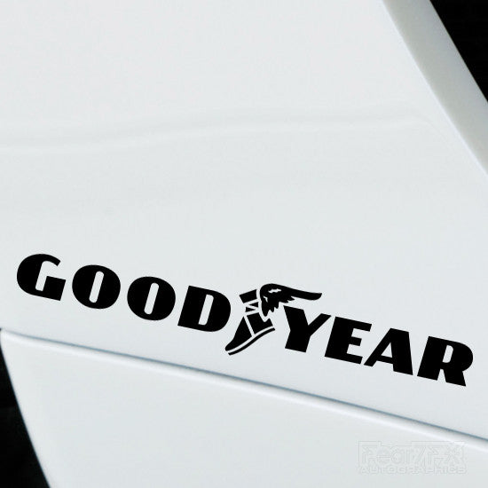 2x Good Year Performance Tuning Vinyl Decal