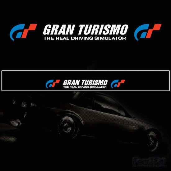 Gran Turismo Vinyl Windscreen SunStrip