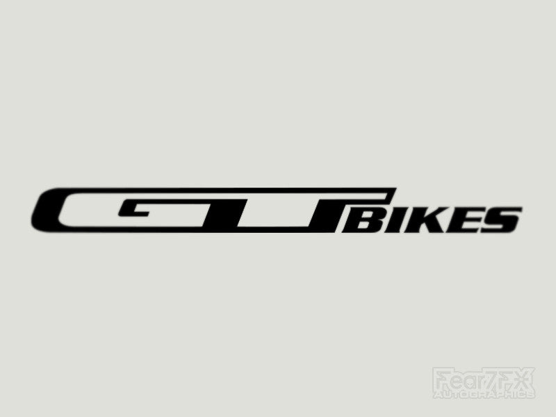 2x GT Bikes V2 Vinyl Transfer Decal