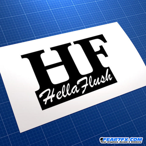 Hellaflush JDM Car Vinyl Decal Sticker