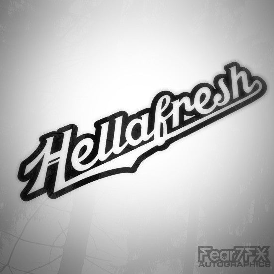 HellaFresh JDM Euro Decal Sticker