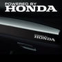 2x Honda Dashboard Powered By Vinyl Decal