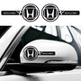 2x Honda Civic Custom Wing Mirror Vinyl Decals