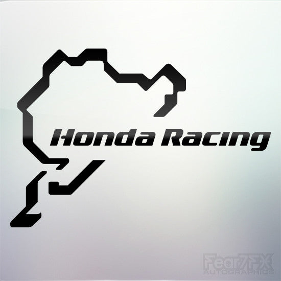 1x Honda Nurburgring Vinyl Transfer Decal