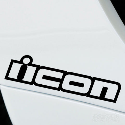2x Icon Performance Tuning Vinyl Decal
