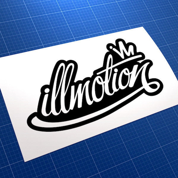 Illmotion JDM Car Vinyl Decal Sticker