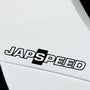 2x JapSpeed Performance Tuning Vinyl Decal
