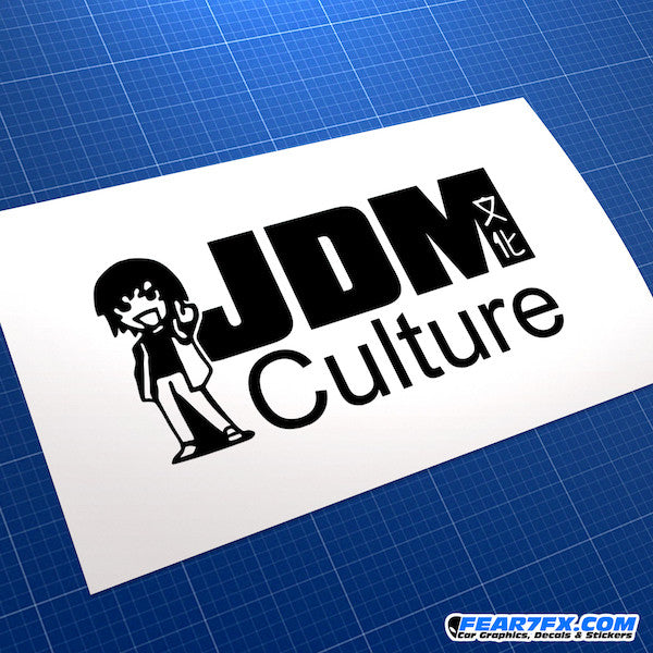 JDM Culture Car Vinyl Decal Sticker
