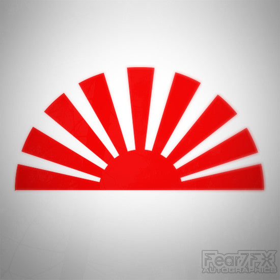 JDM Sunrise Decal Sticker