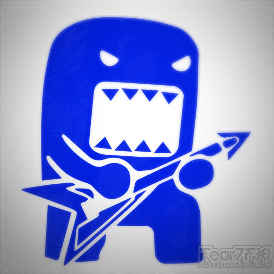 Domo Kun Rock Star Drift JDM Euro Decal Sticker V8