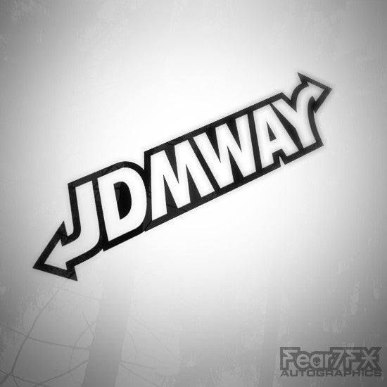 JDM Way JDMWAY Euro Decal Sticker