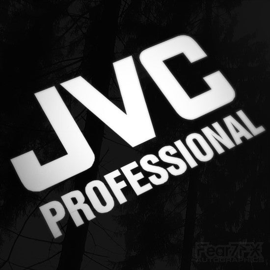 1x JVC Pro Audio Vinyl Transfer Decal