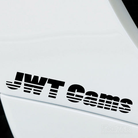 2x JWT Cams Performance Tuning Vinyl Decal