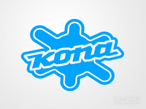 2x Kona V2 Vinyl Transfer Decal